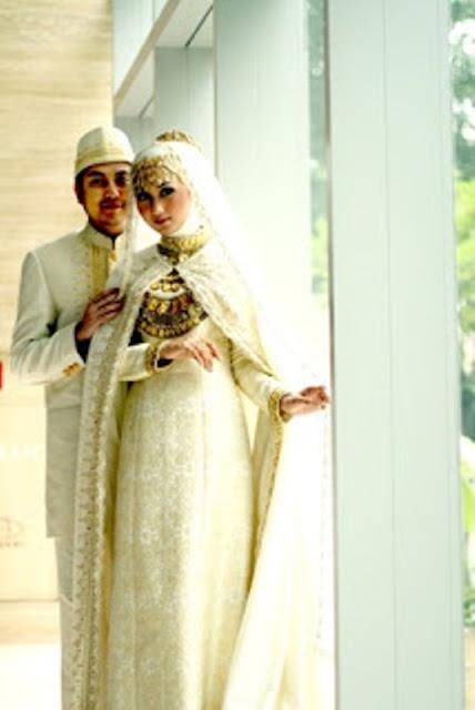 baju pengantin jilbab