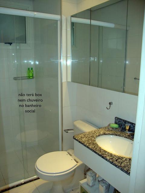 Banheiro Social X Banheiro da Suíte  Comprando Meu Apê  Comprando Meu Apê -> Banheiro Decorado Com Planta Artificial