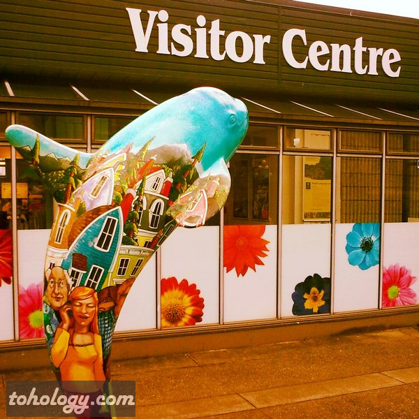 Visitor Centre in Victoria, Canada