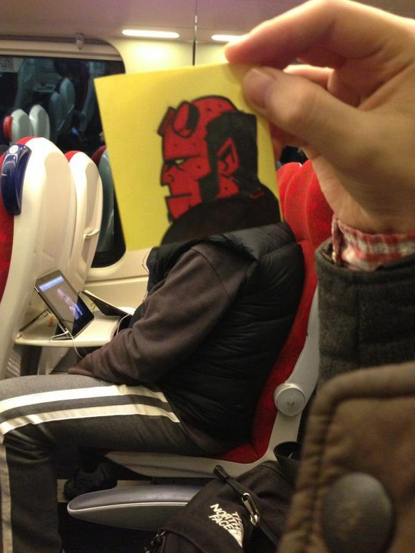 How to entertain yourself on a train