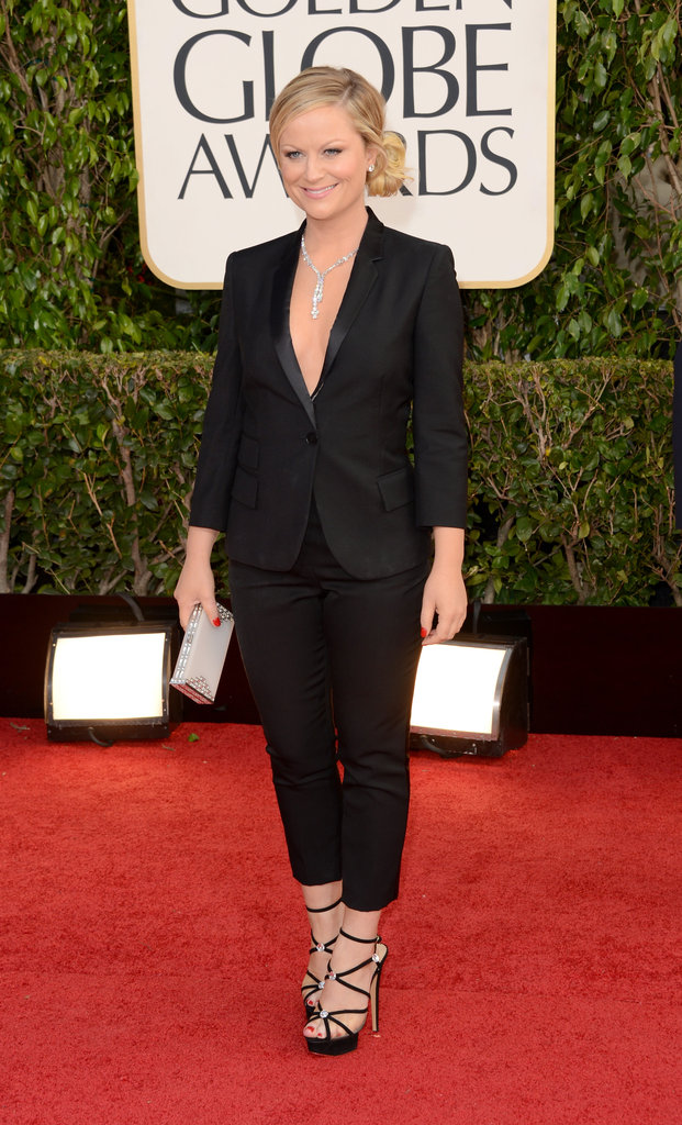 Amy Poehler @ 2013 Golden Globe Awards