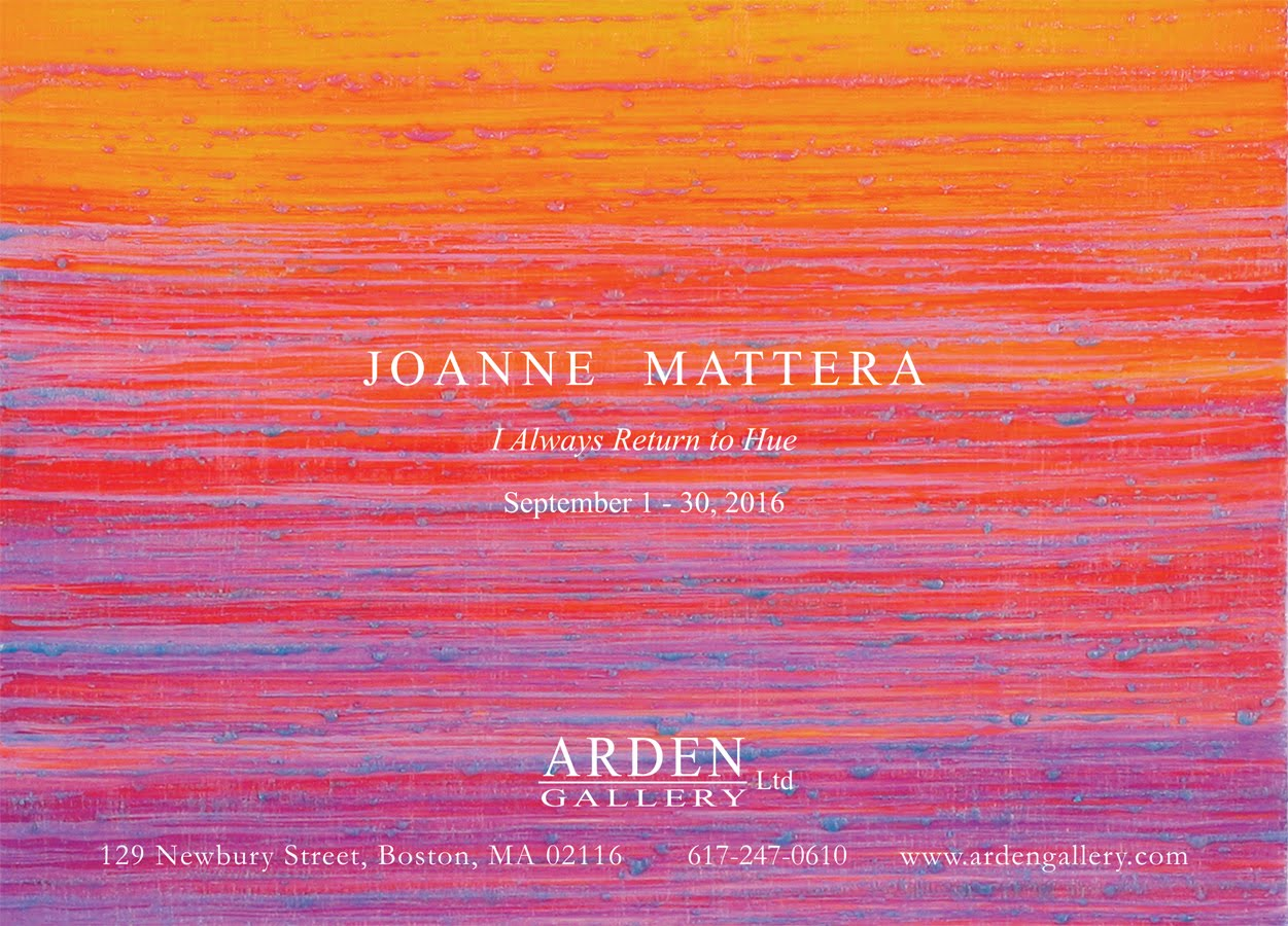 Coming: Solo at Arden Gallery, Boston