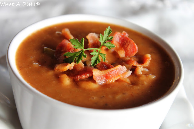 What A Dish!: Homemade Bean & Bacon Soup