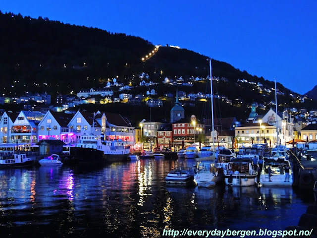 Saturday night in Bergen