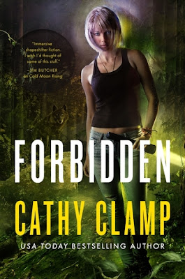 Forbidden urban fantasy Luna Lake Sazi series by Cathy Clamp