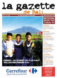 La Gazette de Bali mai 2012