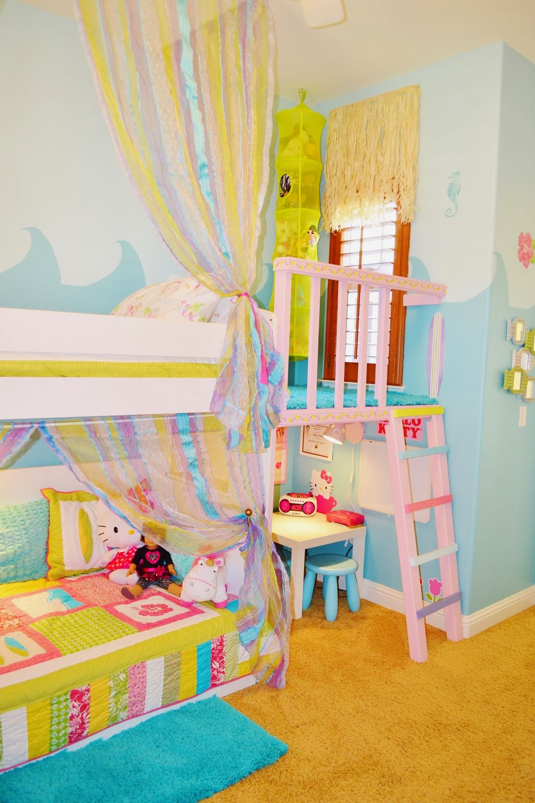 Surfer Girl Bedroom
