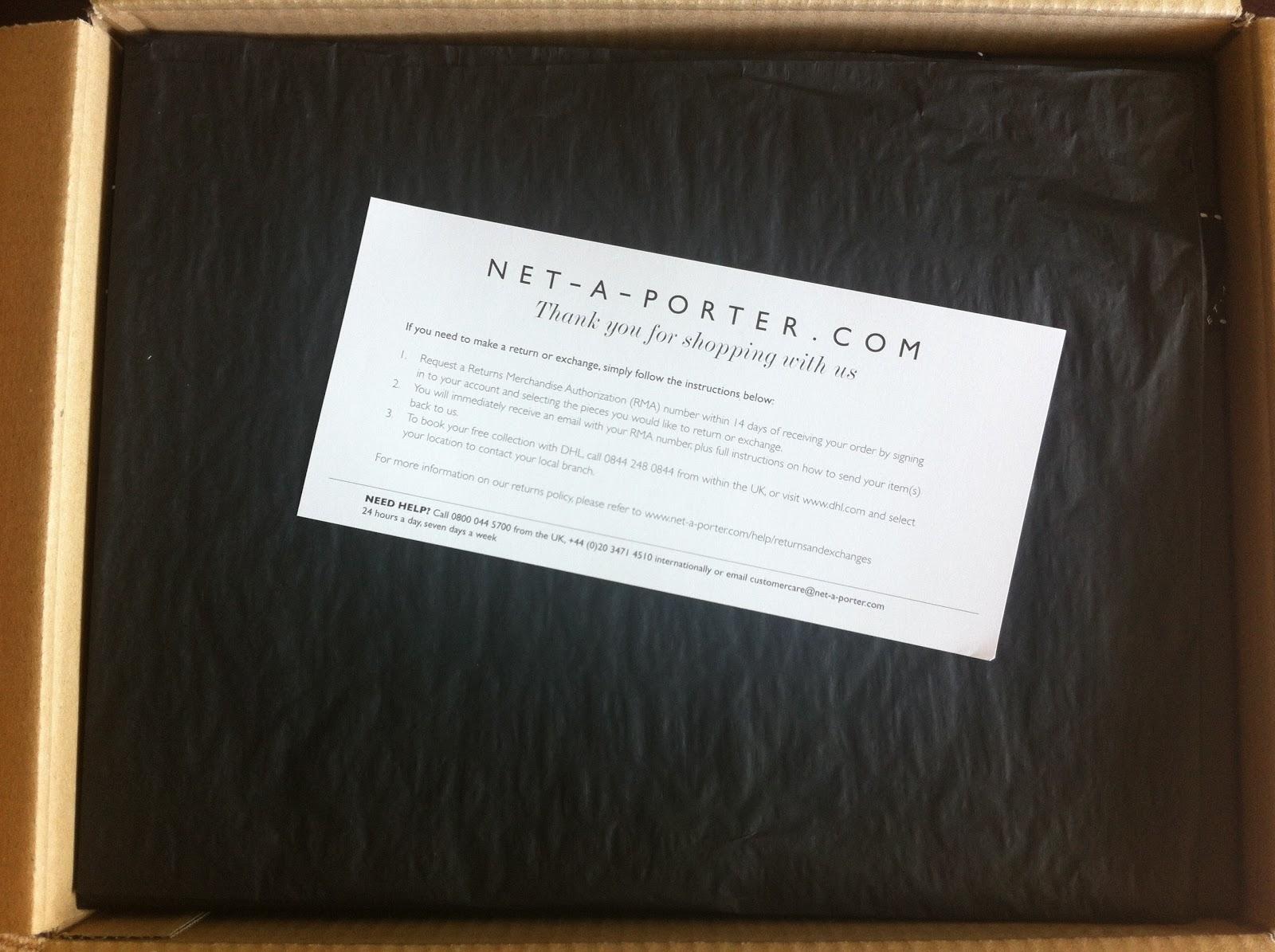 Image gallery net a porter card for Net 0 porter