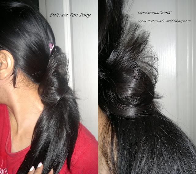 Delicate Fan Pony - TRESemme Ramp Ready Hair