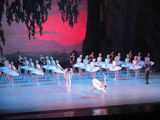 Final curtain call at Swan Lake by Mariinsky Ballet