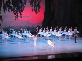 Final curtain call at Swan Lake by Mariinsky Ballet