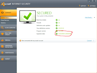 Avast Internet Security till 2050