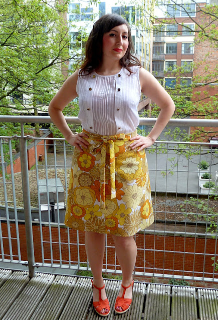 A Stitching Odyssey: Flower Power Miette Skirt