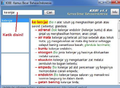 blogger, sesuai janji cerdaskom berbagi Kamus Bahasa Indonesia, Kamus