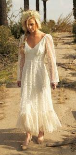 Vestidos de Novia Rusticos, parte 1