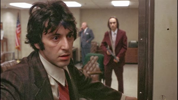 Al Pacino and John Casale in Dog Day Afternoon.