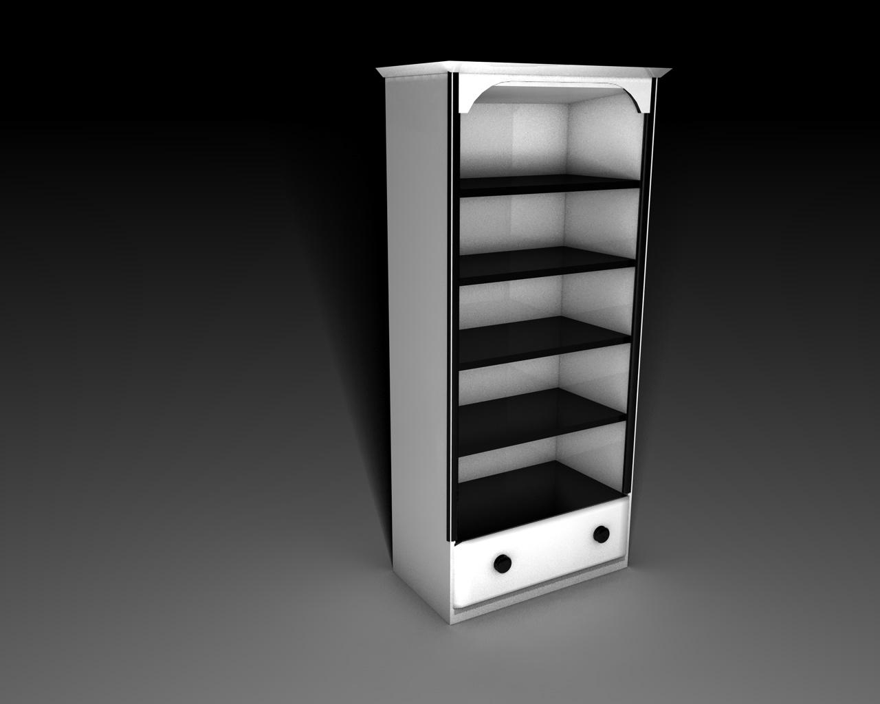 Black And White Bookcase Design Ideas Irooniecom 1200x970