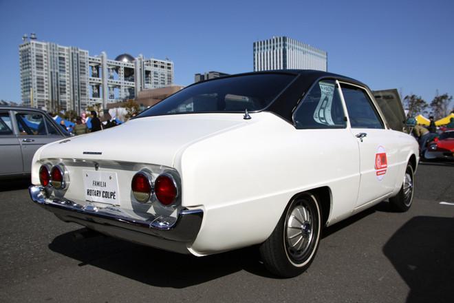 Mazda Familia Rotary wankel stare japońskie sportowe coupe