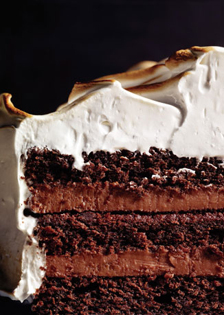 Devil's Food Cake with Black Pepper Boiled Icing - Cook'n is Fun ...