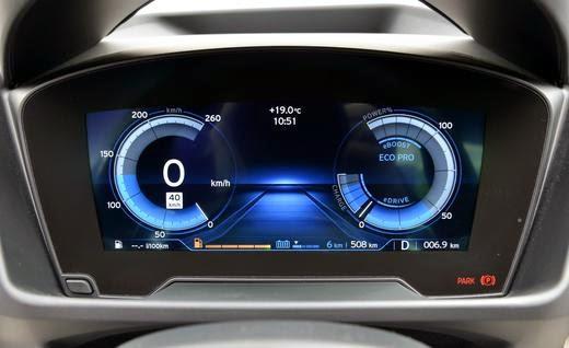Painel azul Nova 2015 BMW i8