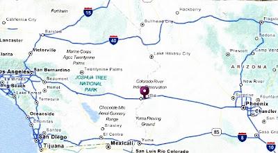 Moeller Travels Arizona Ehrenberg April 15 21