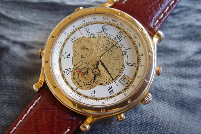 Seiko Perpetual Calendar Vintage : Seiko discovery m perpetual calendar wrist watch