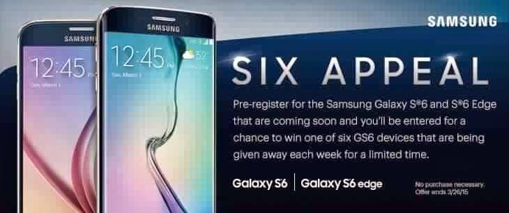 بث مباشر لحدث سامسونج Galaxy S6 في يوم 1 مارس 2015