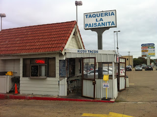 Taqueria la Paisanita Dallas DFW Street Tacos Barbacoa Lengua Al Pastor