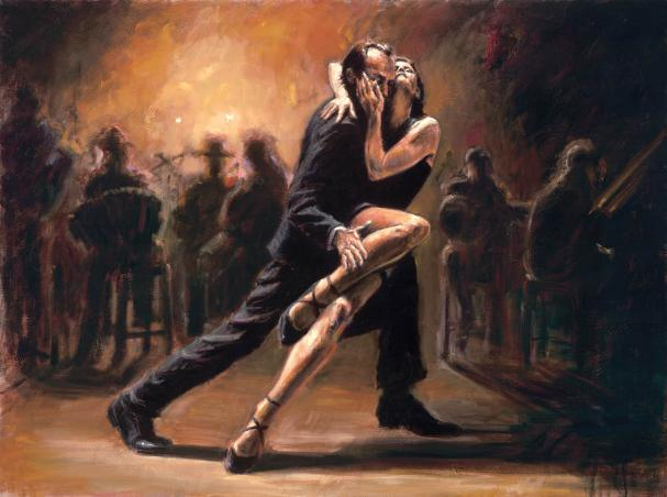 Tango Dance Paintings