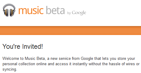 google music beta invite