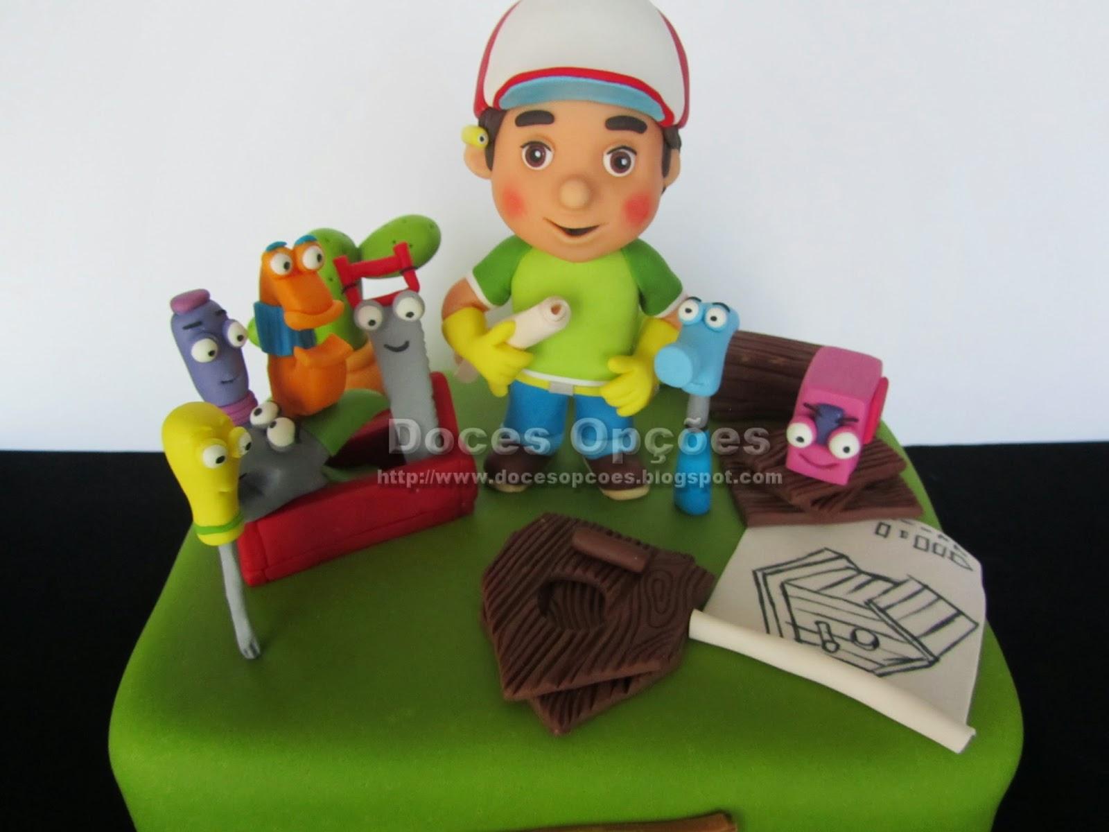 cake Handy Manny disney