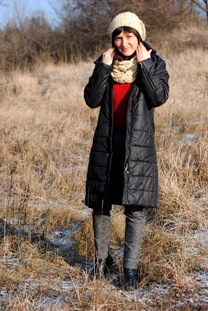 płaszczyk pikowany