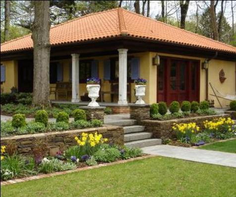 Fachadas casas modernas septiembre 2013 for Casas campestres modernas planos