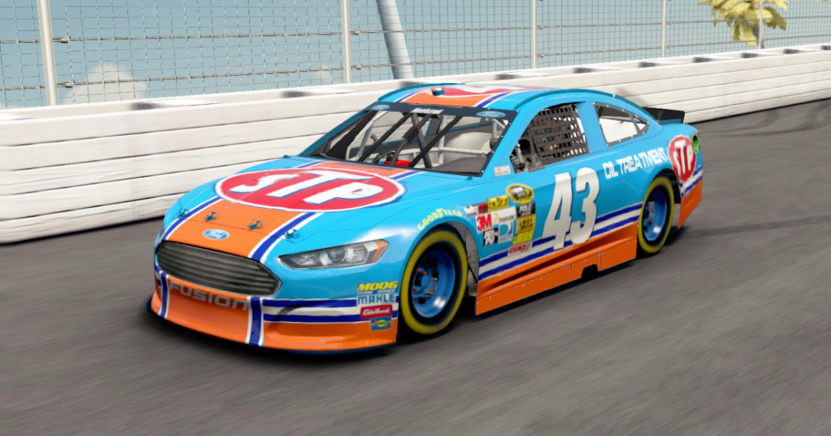 Richard Petty Motorsports >> NASCAR '14: NASCAR '14 Paint Booth 3: STP #43 Ford