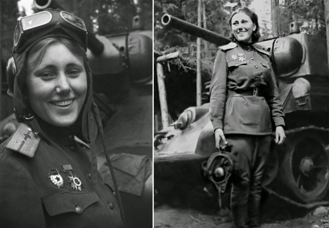 Aleksandra Samusenko, Battle of Kursk, 1943.