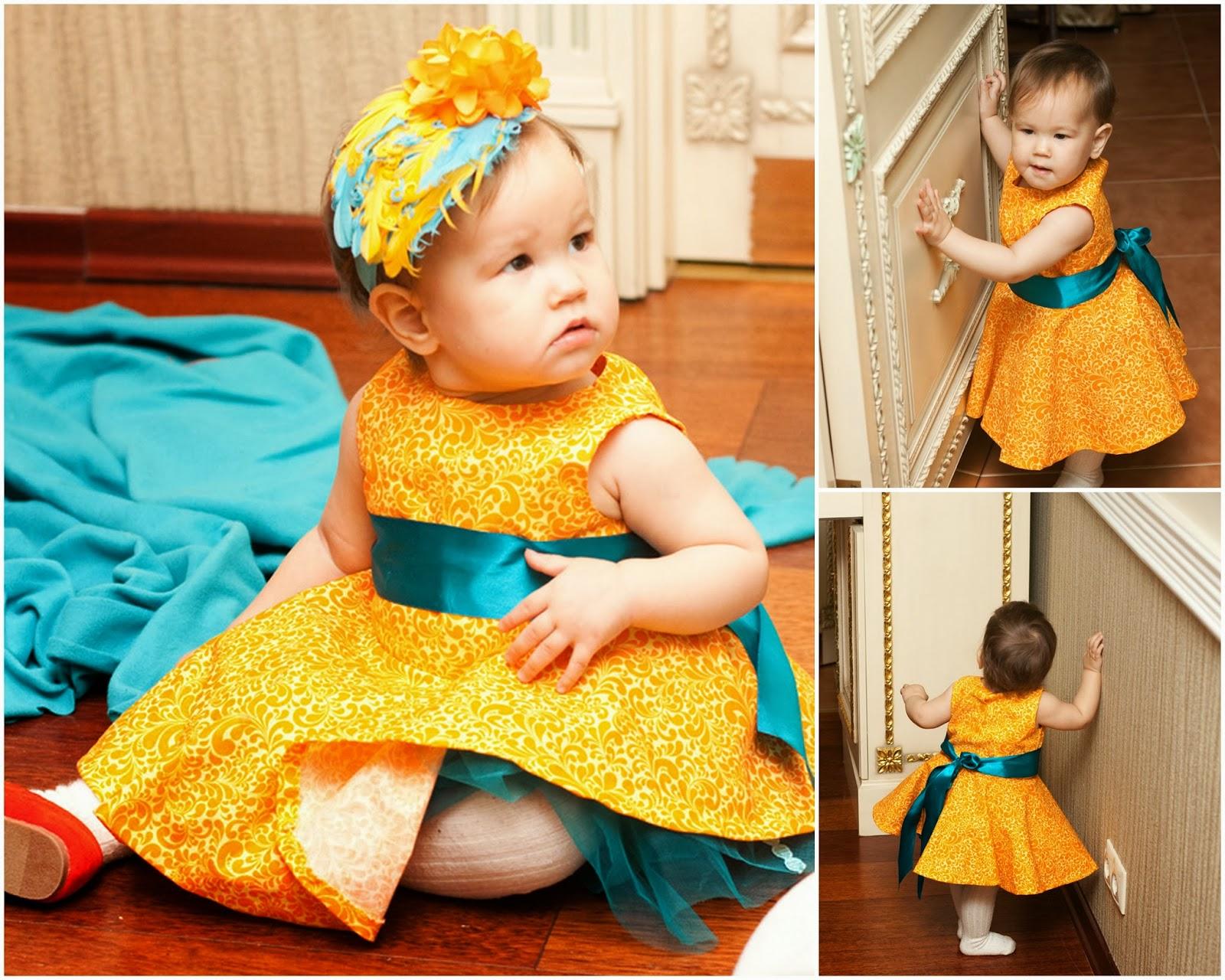 платья для девочек простого кроя