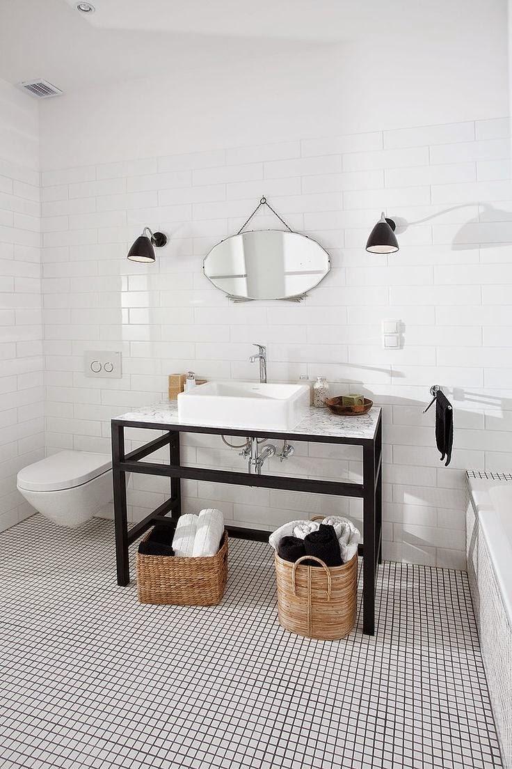 Studio karin: inspiration fÖr funkis badrum