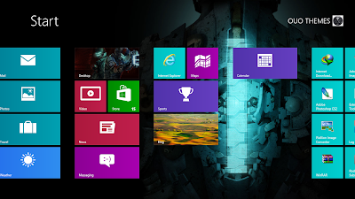 Dead Space 3 Windows 8 Theme
