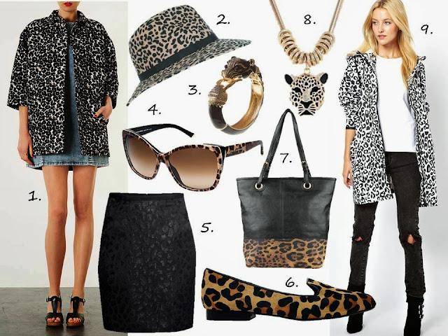 leopard print shopping online jacket fedora parka topshop