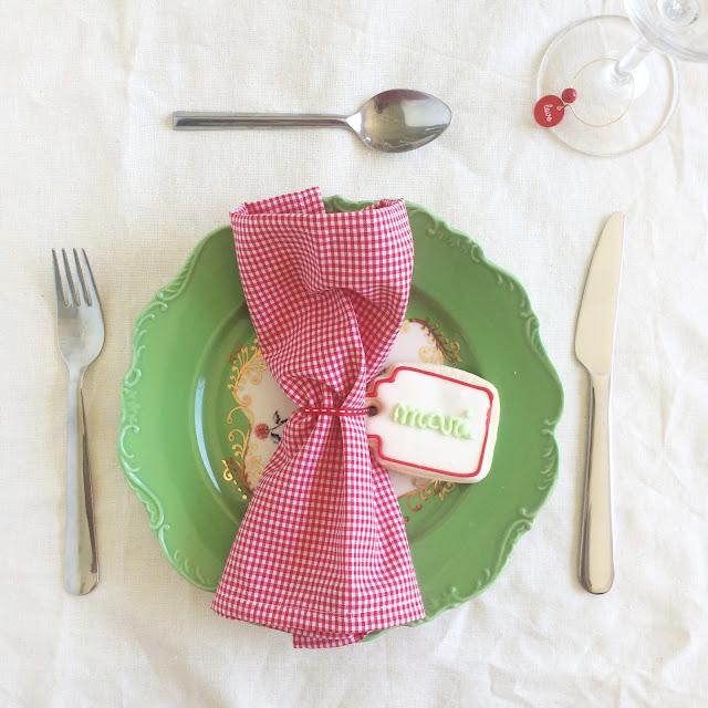 5 ideas para poner linda tu mesa  de Navidad y Año Nuevo.