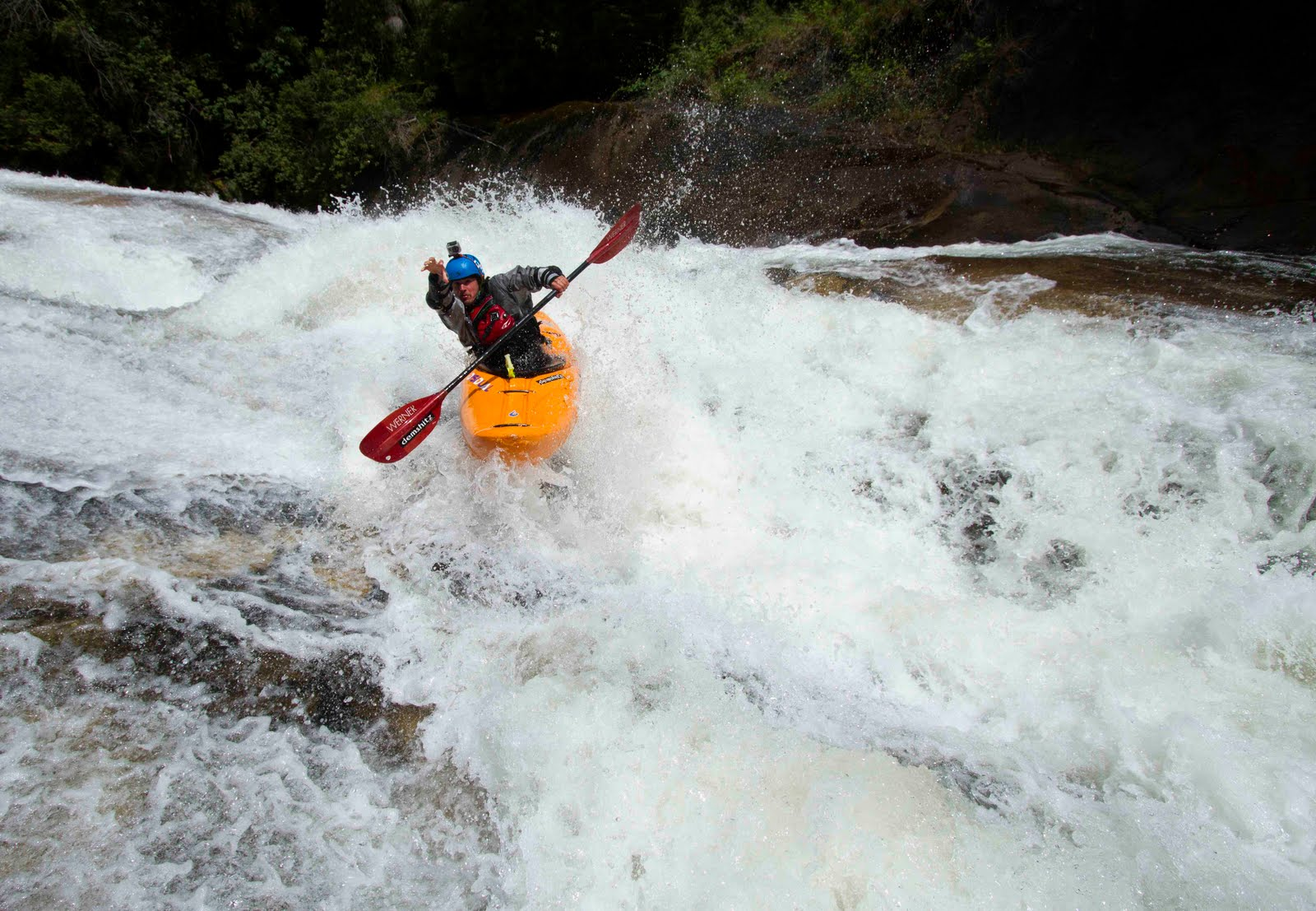 Kayaking in Chile