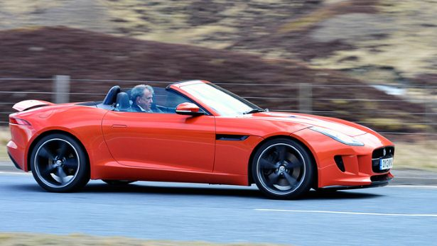 Clarkson tests the F-Type
