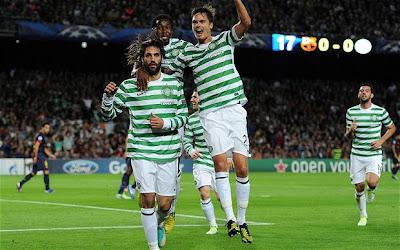 Jadwal Siaran Langsung (SCTV) Celtic FC vs Barcelona Grup G Liga