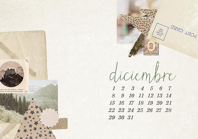 Calendario Diciembre MiLowCostBlog