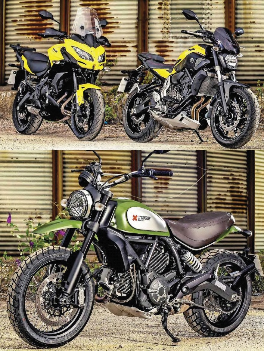 What Can You Get With That A Fancy Coffee Lunchtime Meal Deal Or Brand New 2015 Motorcycle Like Versys 650 Scrambler Even MT 07