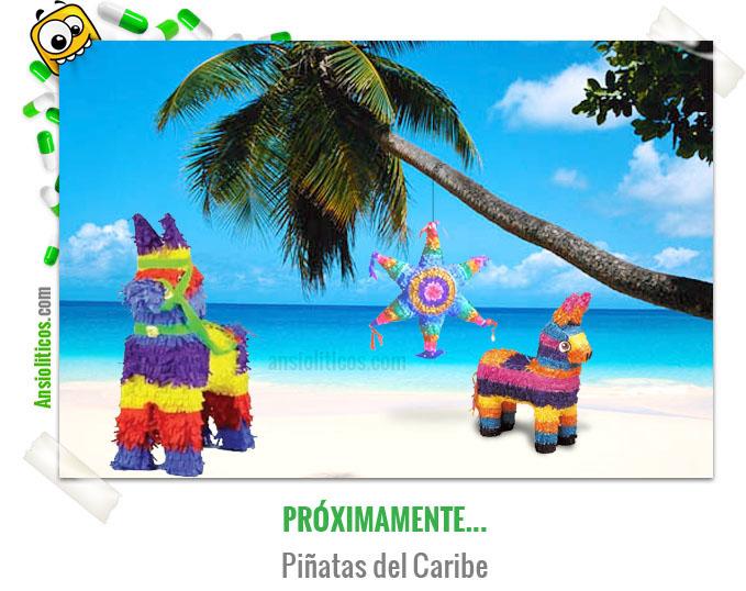 Chiste de Cine de Piratas del Caribe, Piñatas del Caribe