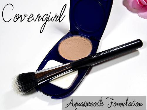 covergirl aqua smoothers compact foundation review