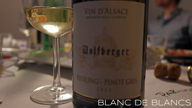 Wolfberger Riesling-Pinot Gris - www.blancdeblancs.fi
