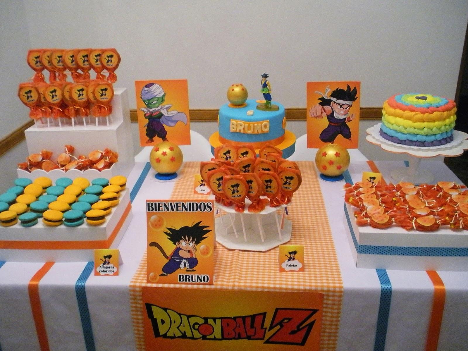 Gaiael cupcakes pasteleria de dise o dragon ball z para - Como decorar un pub ...