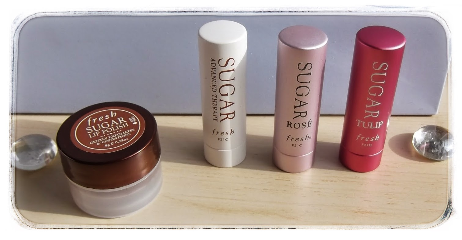 fresh sugar lip balm rose tulip treatment swatches